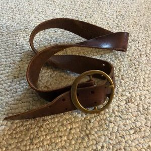 Free People brown belt